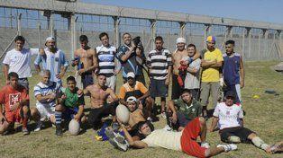 Espartanos. El equipo de rugby de los internos del penal de Marcos Paz.