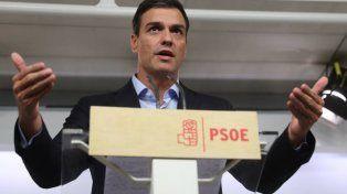 En apuros. Sánchez logró poner en su contra a casi toda la cúpula partidaria.
