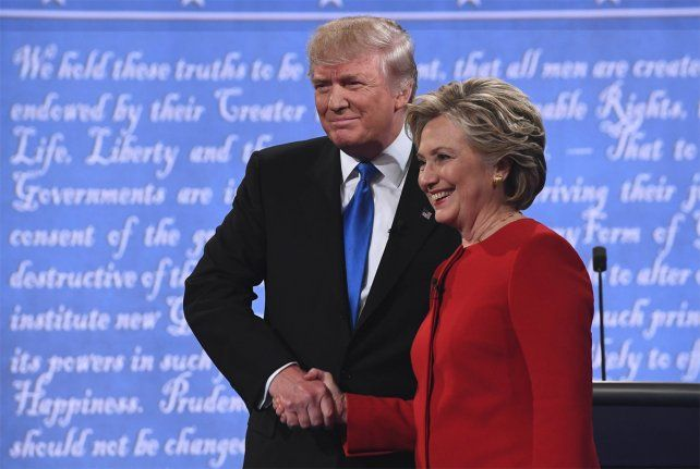 Seguí en vivo el debate electoral más esperado entre Hillary Clinton y Donald Trump