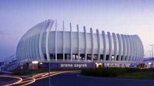 De lujo. El Arena Zagreb tiene capacidad para albergar a unos 15 mil espectadores.