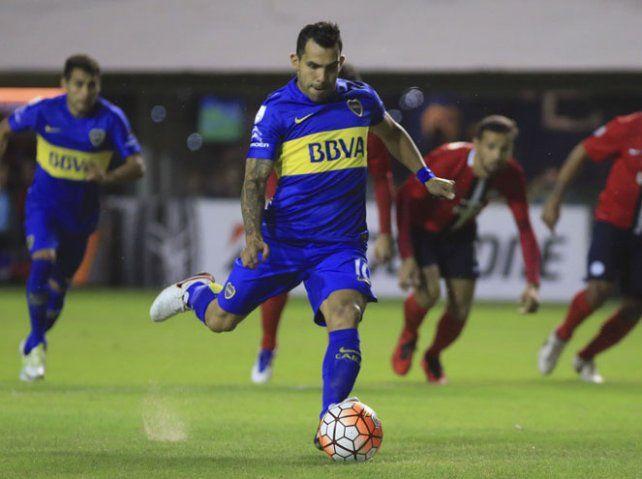 Volver. Carlos Tevez jugará en Copa Argentina pero aún debe 1 fecha en el torneo.