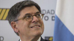 Amigo americano. El secretario del Tesoro de EEUU estuvo en Argentina.