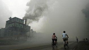Nueve de cada diez personas en el mundo respira aire contaminado