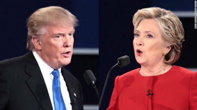 Las mejores frases del intenso debate en el que se cruzaron Donald Trump y Hillary Clinton