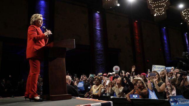 Las mejores imágenes del debate presidencial entre Hillary Clinton y Donald Trump