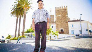 Rufino Borrego, el portugués que quiere vivir su vida ahora que ha podido volver a caminar.
