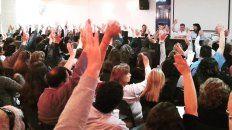 Los delegados de Sadop votaron en asamblea.