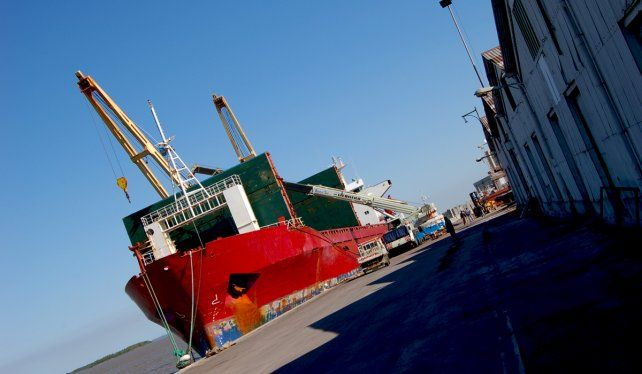 El polizón llegó en un buque cerealero proveniente de Nigeria.