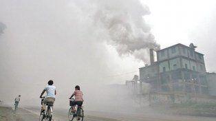Polución. Las partículas dañinas presentes en los espacios abiertos causan unos tres millones de fallecimientos.