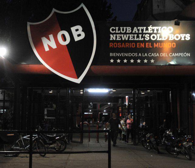 El club del Parque sufrió un atentado intimidatorio ayer por la noche.