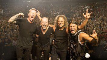 Metallica, la banda estadounidense promete hacer vibrar al Hipódromo de San Isidro.