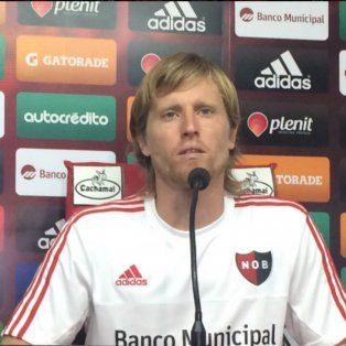 Mateo repudió tanto los hechos de violencia en el club como los silbidos contra su compañero Seba Domínguez.