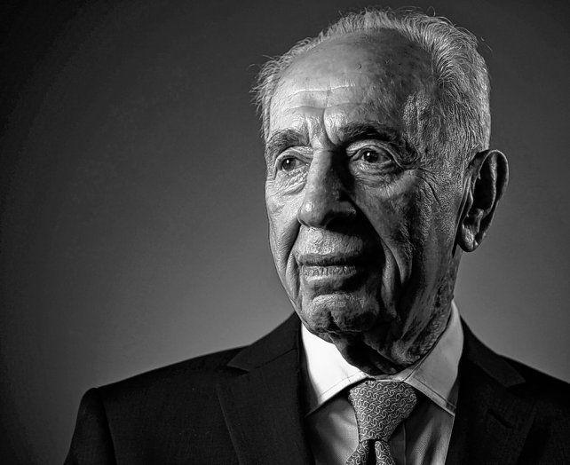 Estampa. Shimon Peres en una foto de febrero pasado. Estuvo activo hasta hace pocas semanas.