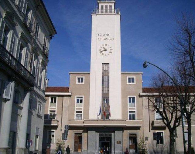 Singular. El Ayuntamiento de Pinerolo