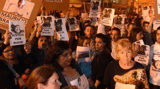 Reclamos. Hubo varias marchas pidiendo justicia por Mauricio Brandán.