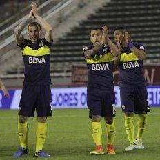 Festejo. Benedetto, Tevez y Pavón marcaron sus penales en la definición.