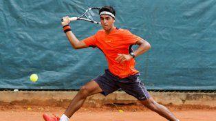 Davis Junior: otra victoria en dobles del rosarino Tomás Descarrega