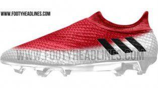 Los nuevos botines de Messi
