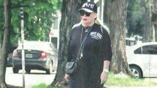La revista Pronto publicó una imagen reciente de Silvia Suller en Buenos Aires.