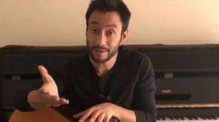 Luciano Pereyra publicó un video en su cuenta de Instagram.