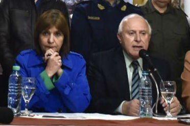 El gobernador Miguel Lifschitz le dio las gracias a la ministra de Seguridad de la Nación