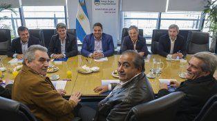 Los integrantes del triunvirato de la CGT y miembros del gobierno nacional se reunieron por espacio de dos horas.