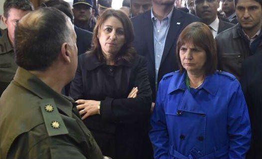 La intendenta Mónica Fein saludó la llegada de las fuerzas federales a Rosario.