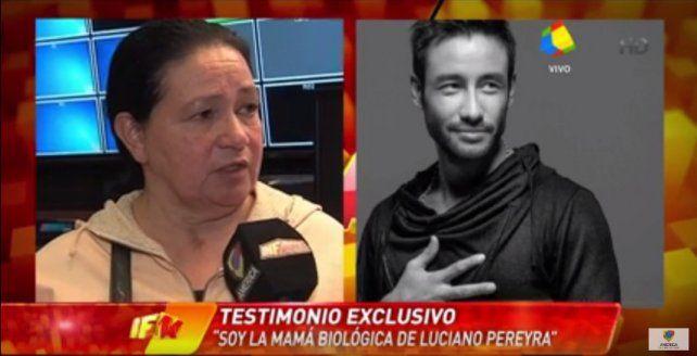 Una mujer dice que es la madre de Luciano Pereyra y que tiene la misma enfermedad que él