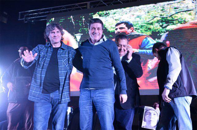 Boudou vino a Rosario y culpó al gobierno actual por la pobreza en el país