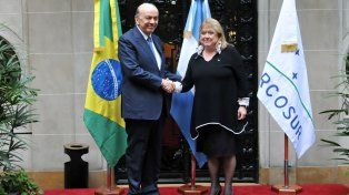 juntos. La canciller Susana Malcorra y su par brasileño