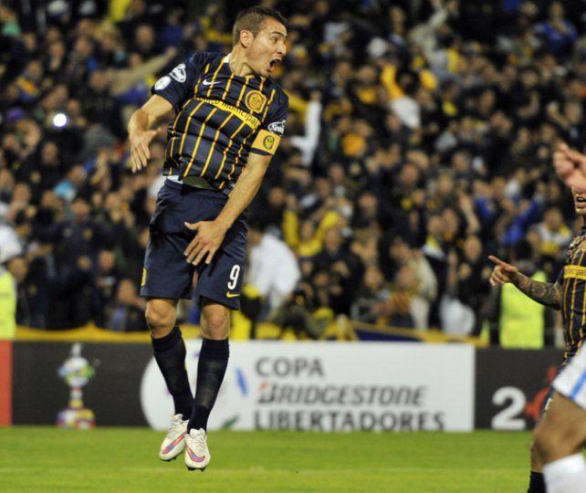 Símbolo. Ruben anotó 40 goles en 60 partidos desde su vuelta a Arroyito.