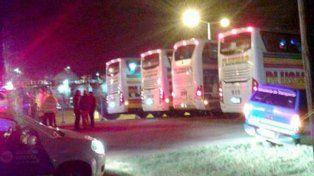 Peligro. Tres de los choferes de ómnibus fueron obligados a dejar el servicio.