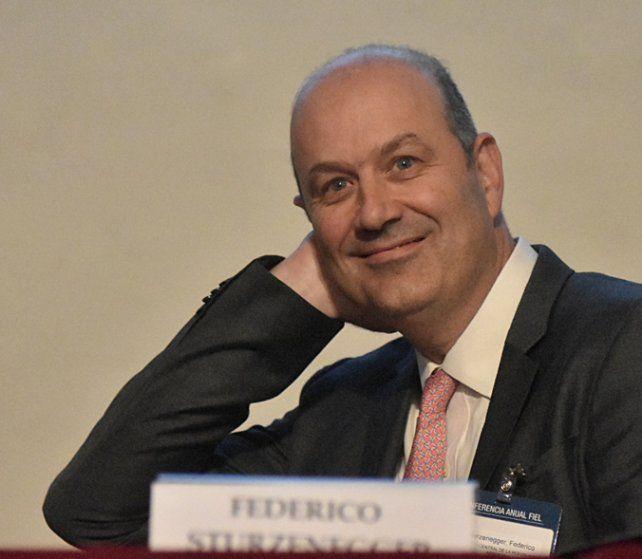 gurú. Sturzenegger fue protagonista de la conferencia anual de Fiel.