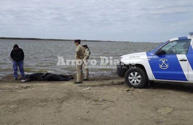Familiares confirmaron que el cuerpo hallado hoy en el río es el de Gabriel Fernández Aróstegui