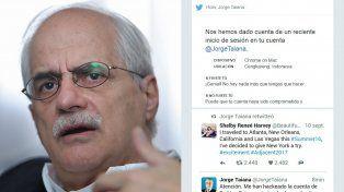 Taiana denunció haber sido hackeado por trolls que trabajaban desde Guatemala e Indonesia