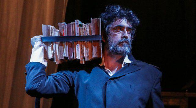 protagonista. Gustavo Maffei encarna al escritor Horacio Quiroga.