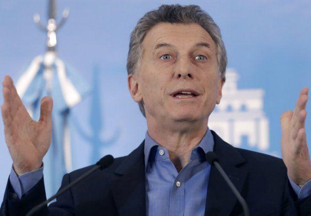 Macri dijo que parte de su sueldo lo dona al comedor Los Piletones.