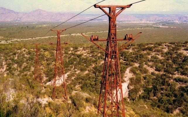 Extenso. El sistema de Cablecarril llega a los 35 kilómetros.