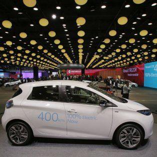 Innovación. El Renault Zoe, un eléctrico en el Salón del Automóvil de París.