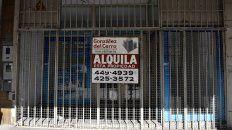 Corredor afectado. San Luis fue una de las calles más perjudicadas por la llamada crisis de los alquileres.
