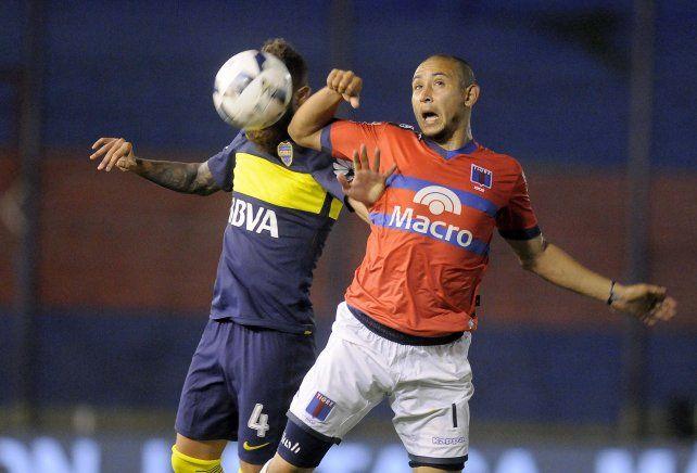 Boca rescató un punto con Tigre y extendió su larga racha sin ganar de visitante