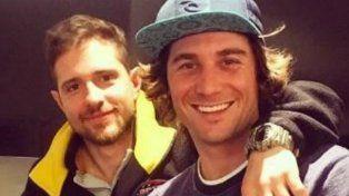 apuntados. Los pilotos Juan Bautista De Benedictis y Mauro Giallombardo.