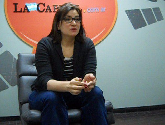 Natalia Zuazo visitó la redacción de La Capital.