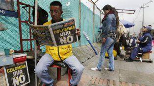 Día después. Los bogotanos se dedicaron a reflexionar y digerir el resultado del No del domingo.