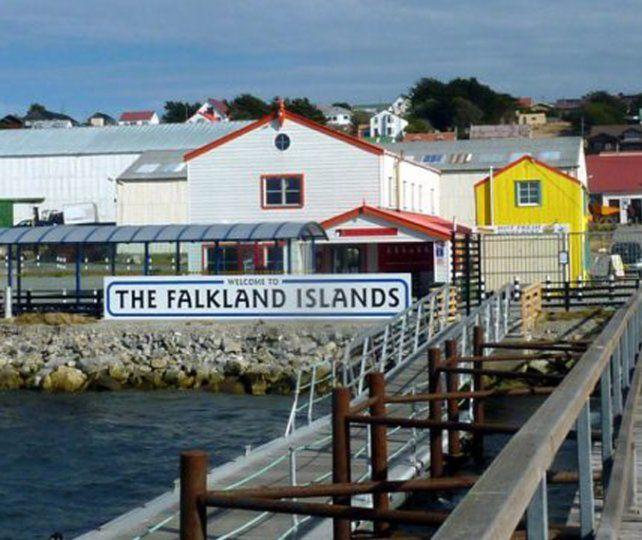 Posición. El Reino Unido reivindicó oficialmente la voluntad de los isleños.