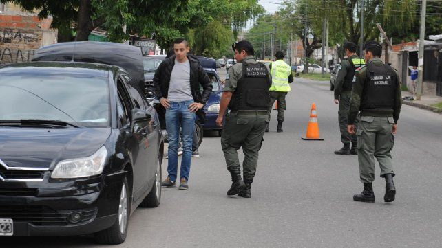Llegaron gendarmes suficientes como para hacer operativos dinámicos y sorpresivos