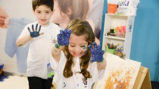 Uno de los derechos de los niños es el de divertirse y disfrutar su niñez a pleno.