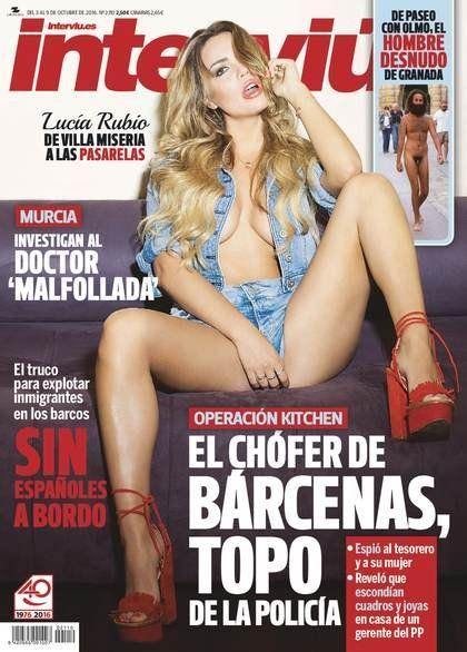 Lucía Rubio, la cordobesa que saltó a Europa y se desnudó para Interviú