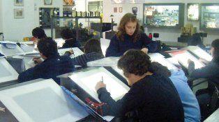 Una escuela para hacer dibujitos