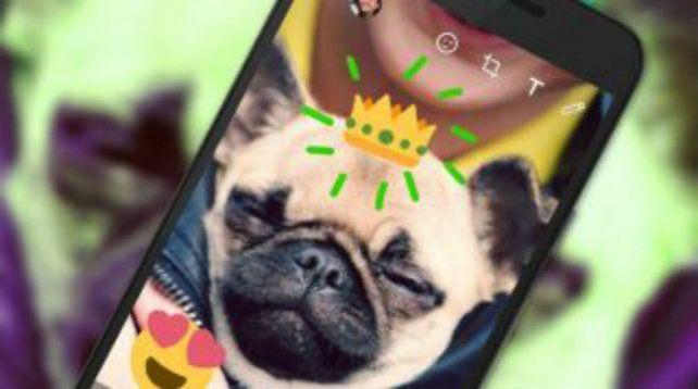 Ahora en WhatsApp se podrán utilizar funciones similares a las de Snapchat.